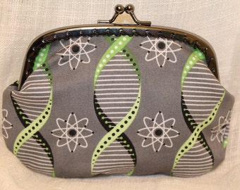 Large Double Helix Coin Purse