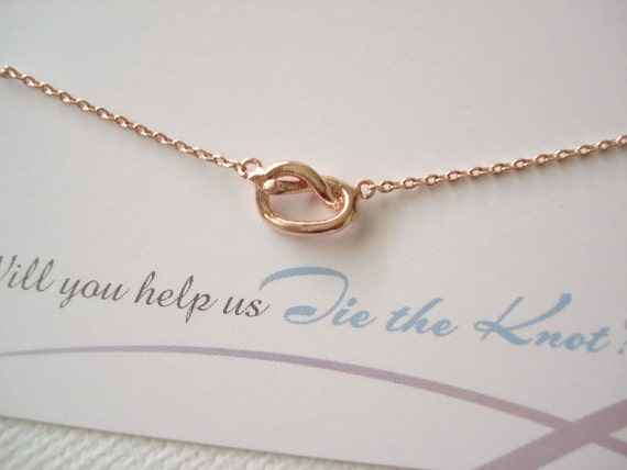The Knot Wedding Gift List : ... , bridal jewelry, wedding, bridesmaid, tie the knot, best friend gift
