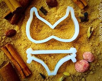Bikini, lingerie cookie cutters set