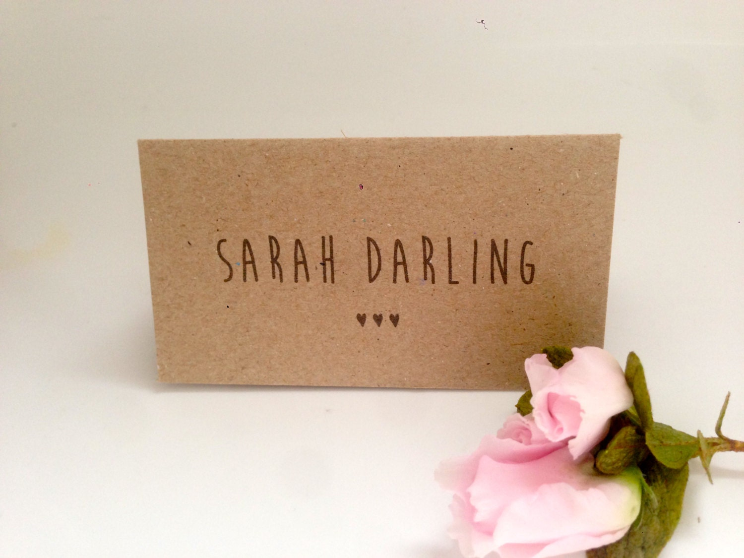 Name Card: 115 FLAT Wedding Name Cards Or Place Cards. By