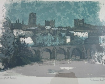 a serigraph print by norman wade