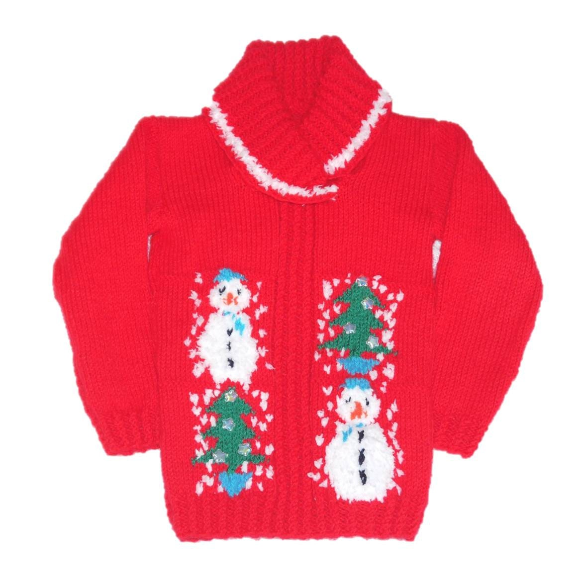 Christmas Sweater Knitting Pattern, Xmas Knitting Pattern, Christmas Knitting...