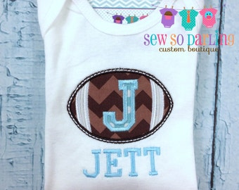 Baby football outfit - Baby Football Shirt - personalized baby outfit - baby gift