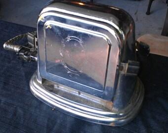 Vintage Kitchen - 2 slice open door toaster