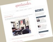 Premade Blogger Templates - Responsive blogger template - Spectacular