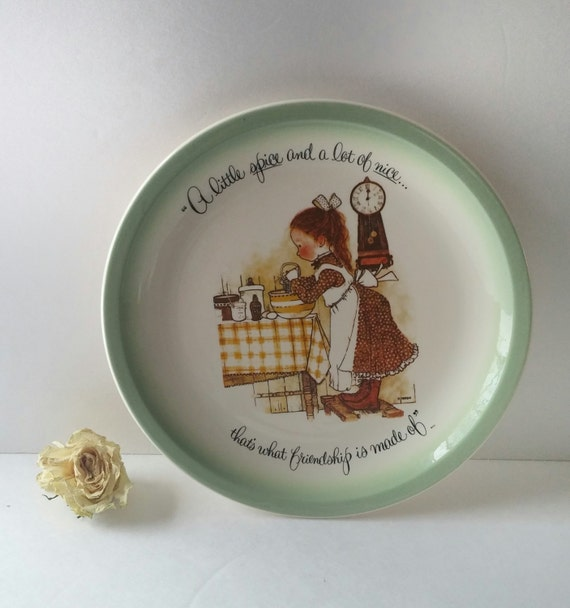 items similar to hanging decorative plate vintage wall