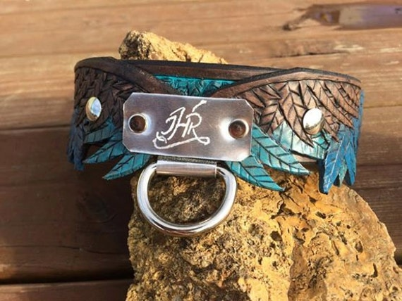 Hand Tooled Dog Collar