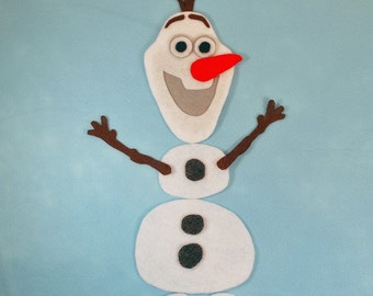 SHOP CLOSING SALE - Build A Snowman Olaf Inspired Snowman Set