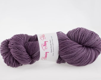 Purple Rain - Stunning Superwash Fingering Weight - 100% Superwash Merino - 100 g - 475 yds