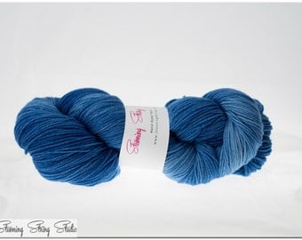 Wild Blue Yonder - Stunning Superwash Fingering Weight - 100% Superwash Merino - 100 g - 475 yds