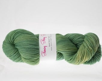 Baby Greens - Stunning Superwash Fingering Weight - 100% Superwash Merino - 100 g - 475 yds