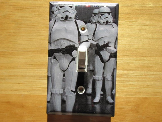Storm Troopers Star Wars Light Switch Plate Cover By