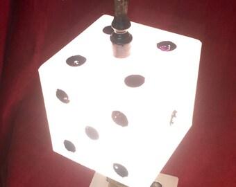 Vintage Lamp - Glass Dice