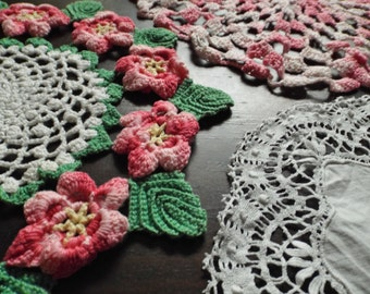 Lovely Vintage Doilies - READY TO SHIP
