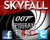 SKYFALL DONE Commercial Font