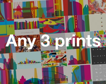 3 prints combo