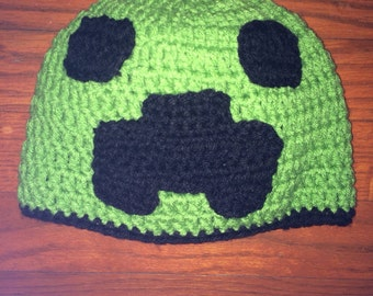 Mindcraft Creeper Beanie
