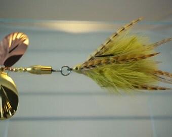 Golden Shiner FlyStyle Muskie Bucktail
