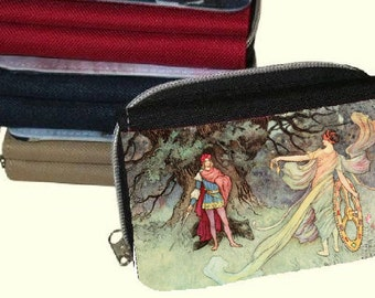 Canvas  Women's Purse, Wallet - Vintage  Fairies 3