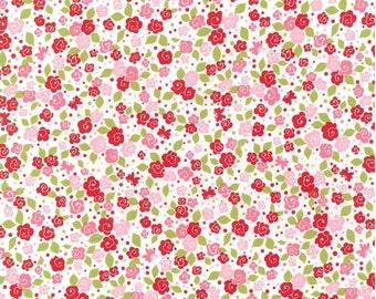 Michael Miller - Tea Blooms - Pink