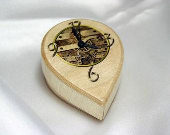 Hand-made Wooden Clock