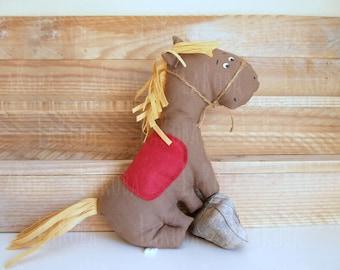 Rag animal: horse