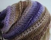 Colour-block Slouchy Hat...