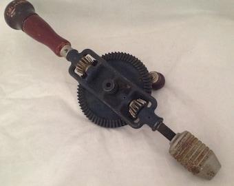 Craftsman Hand Drill, Fintage, 1960' DD9 4231