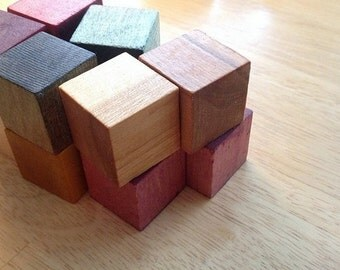 Baby's First Wooden Block Starter Set - Montessori Inspired