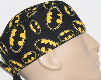 Scrub hat/ Batman all over/ super hero