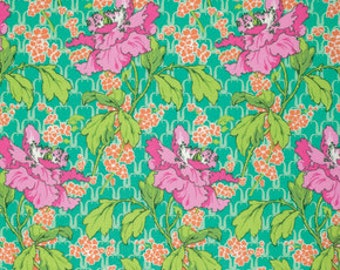 One Yard - 1 Yard - Field Poppy in Rose - VIOLETTE Collection by Amy Butler