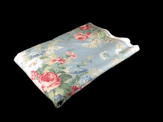 Vintage Floral Home Dcor Fabric by Ralph Lauren by InUseAgain