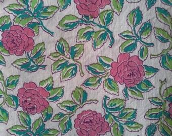 Vintage Feed Sack Fabric.