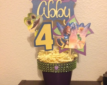 Tinkerbell and The Pirate Fairy Inspired Centerpiece STICKS ONLY