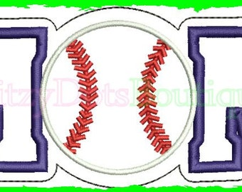 Baseball Mom, Softball Mom, Raggy Apllique, Raw Edge Applque, fill and App Ball, Machine Embroidery 052