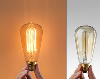Wholesale Supply Edison Bulbs for Industrial Lamp - 110V & 220V 40w / 60 Watt Bulbs E27 Squirrel Cage Filament light bulb