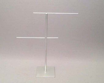 Jewelry Stand - Steel Earring Display, Steel Earring Stand, Steel Necklace Stand, Steel Necklace Display, Silver Jewelry Stand 044