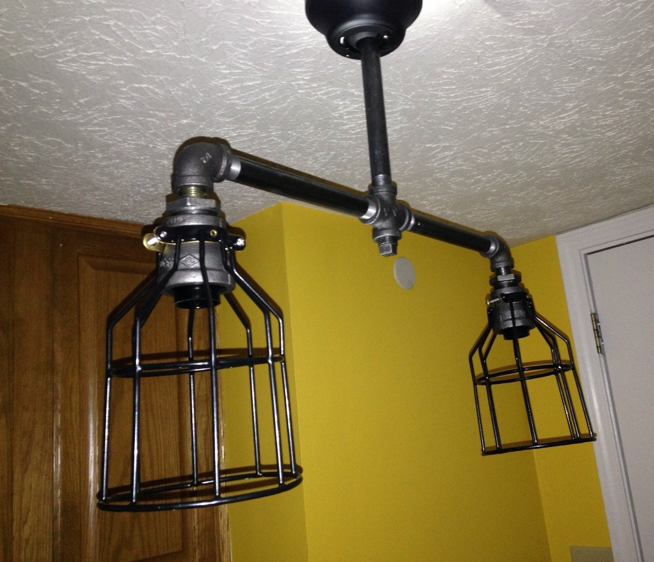 Chandeliers pendant lights for Pipe ceiling lighting