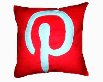 Pinterest Inspired Fleece Pillow