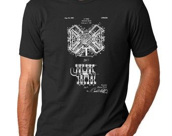 Henry Ford Explosive Engine Patent T Shirt, Engine Art, Mechanic Gift, Motorhead Shirt, PP0467