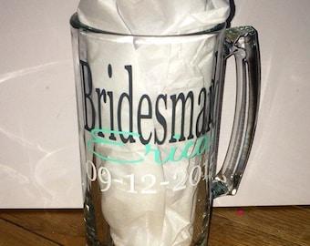 Bridesmaid Personalized Mug