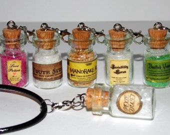 Wizards' Potions Kit Necklace