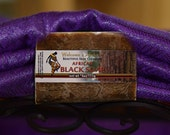 African Black Soap Bar with Raw Shea Butter