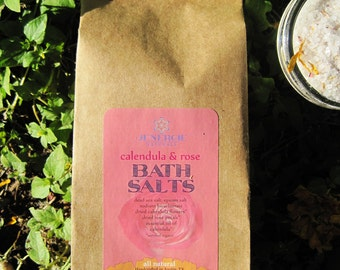 Calendula Rose Bath Salts