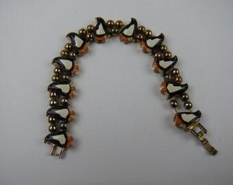 Vintage Penguin Slide Bracelet