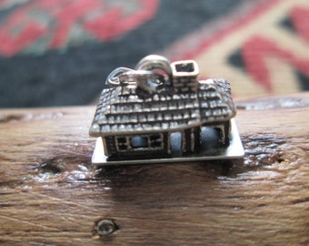 Vintage Beau Ranch House Charm with Original Jump Ring