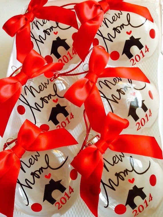 Realtor gift to clients new home christmas ornament by for Holiday gift ideas clients