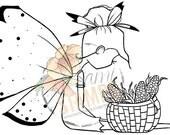 "Digital Stamp ""Corn In My Basket"""