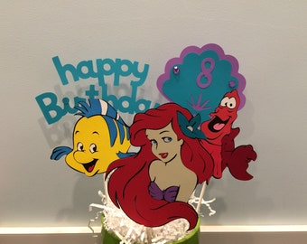 5 Piece Ariel Little Mermaid Centerpiece