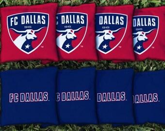 FC Dallas Cornhole Bags - MLS Licensed